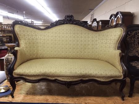 Antique Victorian Sofa Settee
