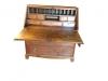 Antique Primitive Heart of Pine Secretary Desk