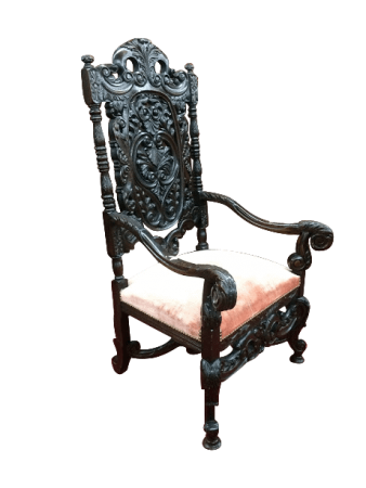 antique gothic chair