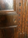 Kittinger Antique Oak Carved China Cabinet