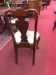Shell Carved Mahogany Queen Anne Chairs