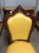 Mahogany Gold French Provincial Dining Chairs