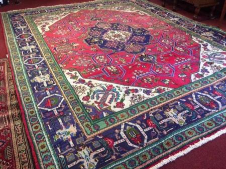 Room Size Tabriz Persian Oriental Rug
