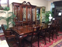 SOLD-- Thomasville Dining Room Table and 8 Chairs