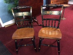 SOLD Hitchcock Cherry Chairs $129 each