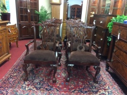 SOLD Thomasville Carved Chippendale Chairs $149 each