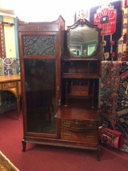 Antique Mahogany Side-by-Side $2499