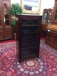 SOLD - Antique Mahogany Bookcase $399