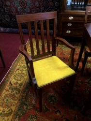 Inlaid Mahogany Chairs $199 each