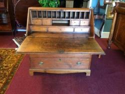 Antique Pine Secretary Desk $599